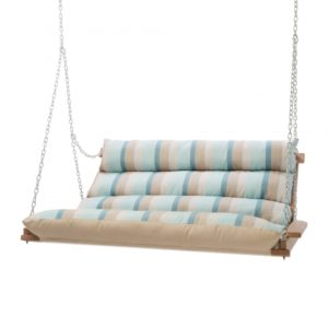 Double Cushioned Porch Swing - Gateway Mist