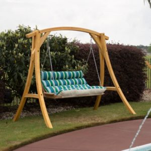 Double Cushioned Porch Swing - Gateway Tropic