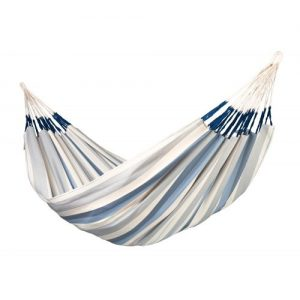 Brisa Weatherproof Double Hammock Sea Salt