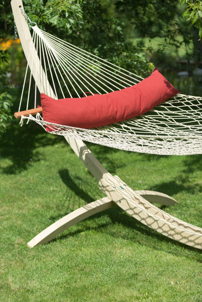 California Weatherproof Kingsize Spreader Bar Rope Hammock