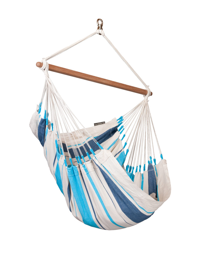 CARIBEÑA Basic Hammock Chair aqua blue
