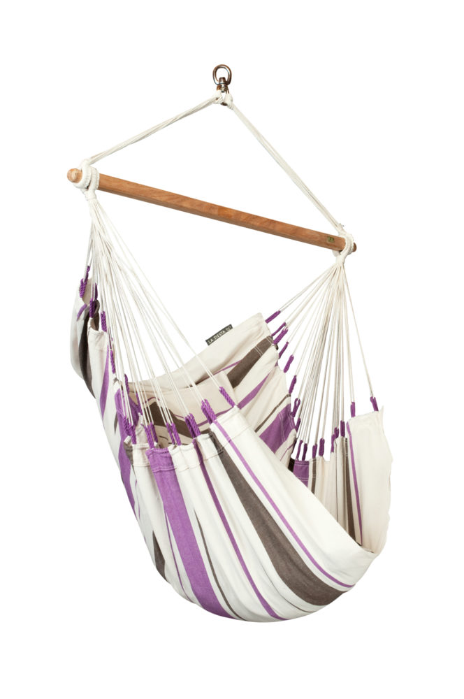 CARIBEÑA Basic Hammock Chair purple