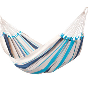 CARIBEÑA Single Hammock aqua blue
