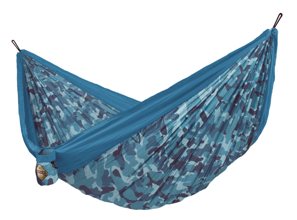 COLIBRI CAMO Double Travel Hammock river