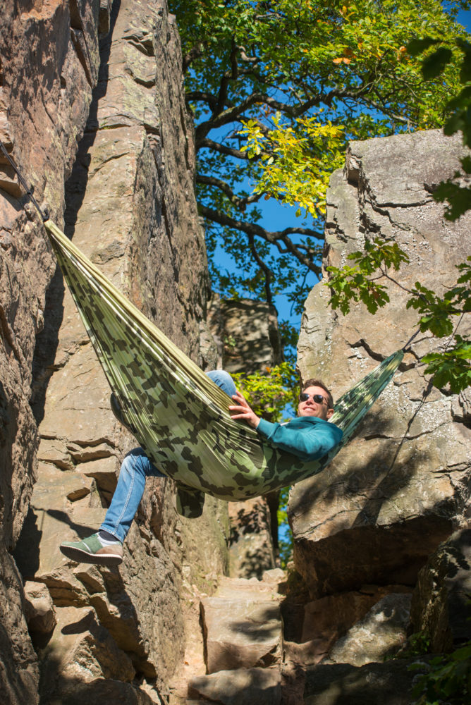 Colibri Camo Double Travel Hammock Forest Swings And