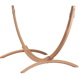 CANOA Wood Stand for Family & Kingsize Hammocks caramel