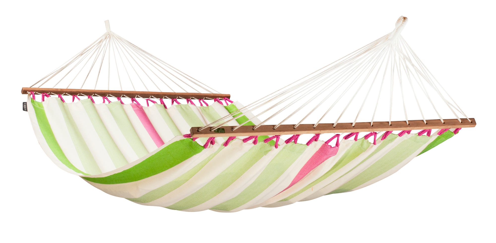 COLADA Weatherpoof Double Spreader Bar Hammock kiwi