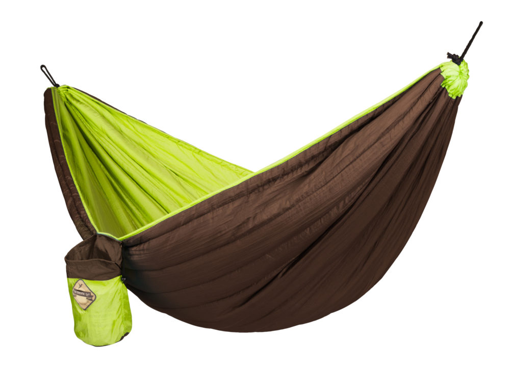 COLIBRI PADDED Travel Hammock green