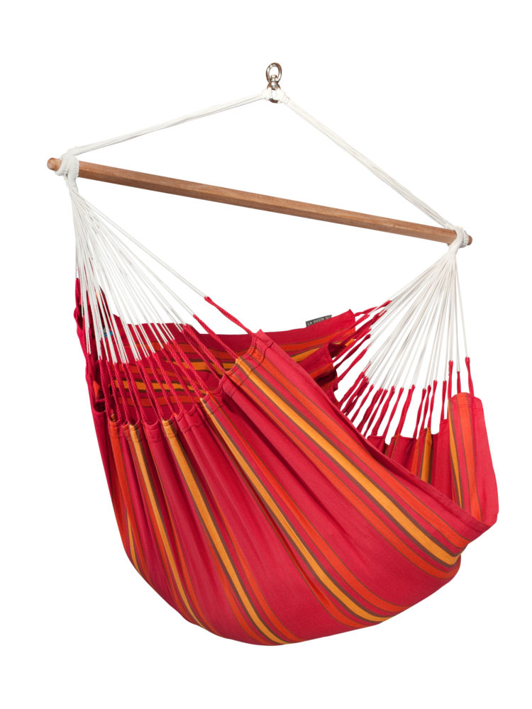 Organic Lounger Hammock Chair cherry