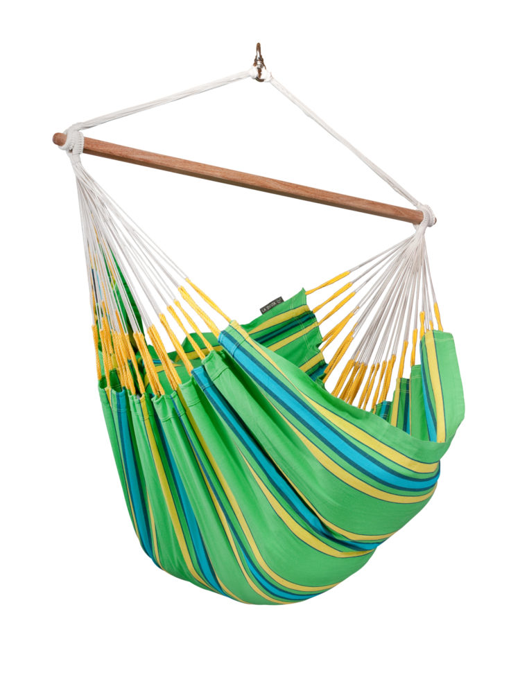 Organic Lounger Hammock Chair kiwi