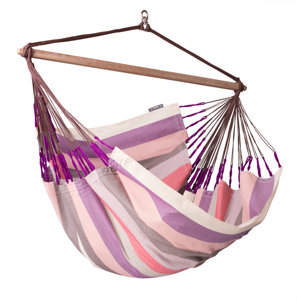 Beau DOMINGO Weatherproof Lounger Hammock Chair Plum