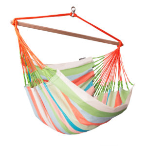 DOMINGO Weatherproof Lounger Hammock Chair coral