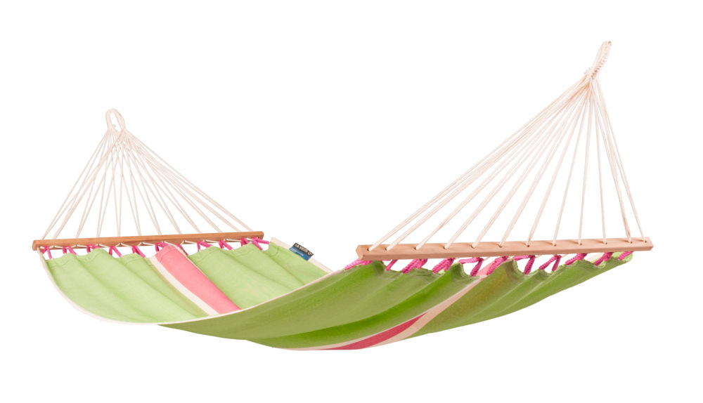 FRUTA Weatherpoof Single Spreader Bar Hammock kiwi