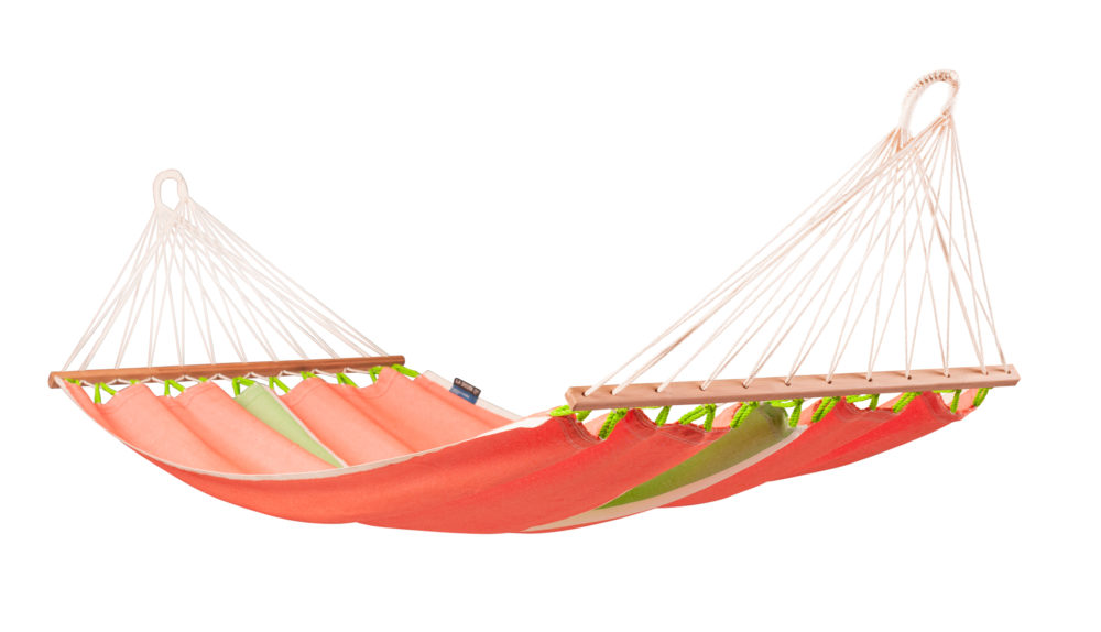 FRUTA Weatherpoof Single Spreader Bar Hammock mango
