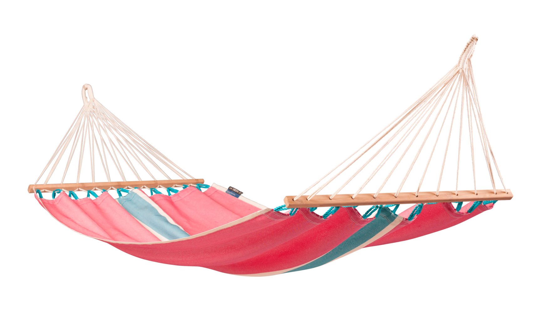 FRUTA Weatherpoof Single Spreader Bar Hammock lychee