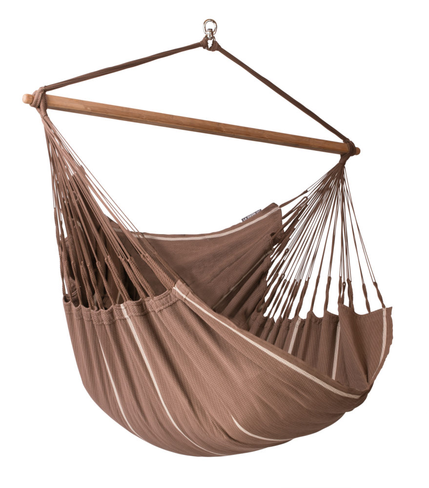 Organic Lounger XXL Hammock Chair chocolate