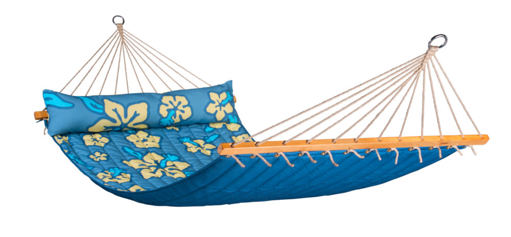 HAWAII Weatherproof Double Padded Spreader Bar Hammock pacific