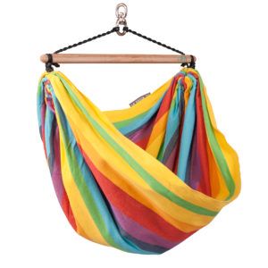 IRI Hammock Chair for Kids rainbow