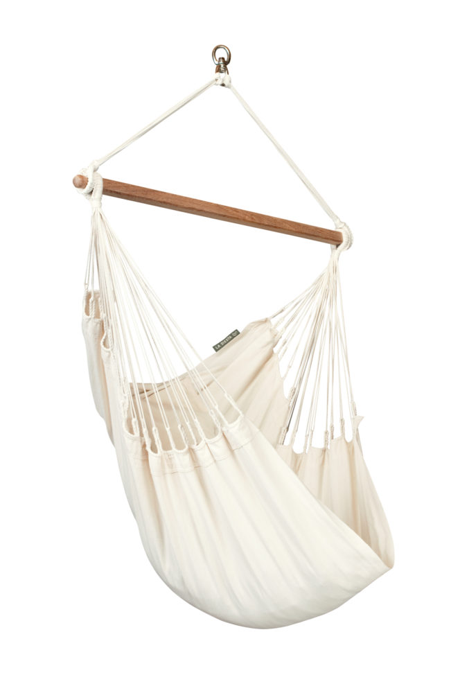 MODESTA Organic Basic Hammock Chair latte