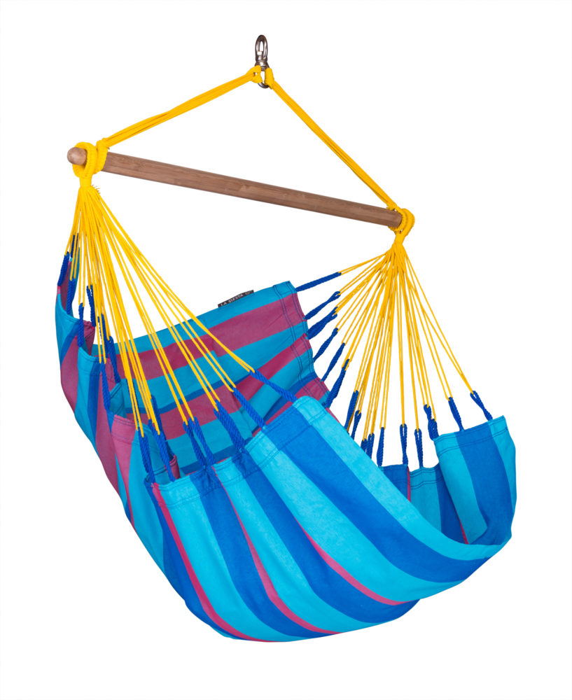 SONRISA Weatherproof Basic Hammock Chair wild berry