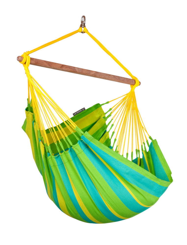 SONRISA Weatherproof Basic Hammock Chair lime
