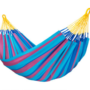 SONRISA Weatherproof Single Hammock wild berry