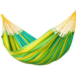 SONRISA Weatherproof Single Hammock lime