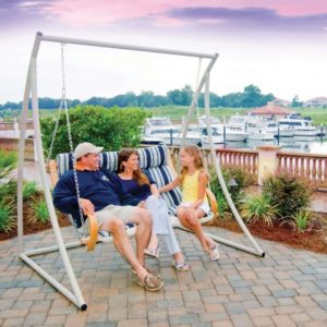 Porch Swing Stand - Steel