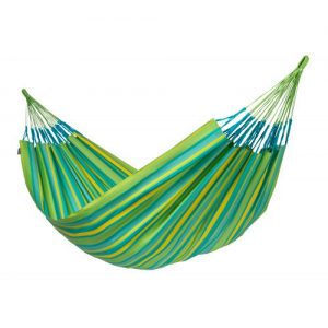 Brisa Weatherproof Double Hammock Lime
