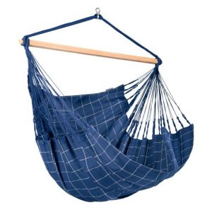 DOMINGO Weatherproof King Size Lounger Hammock Chair Marine