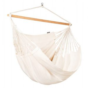 Organic Lounger XXL Hammock Chair Latte