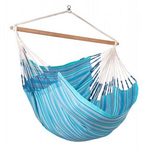 Organic Lounger Hammock Chair Azure