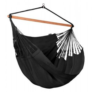 Organic Lounger Hammock Chair Onyx